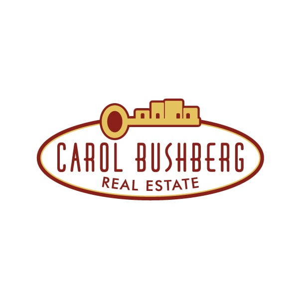 Business Logo Design | Carol Bushberg Real Estate | target market focus on home buying and selling | real estate agent brokers located in Ithaca, NY