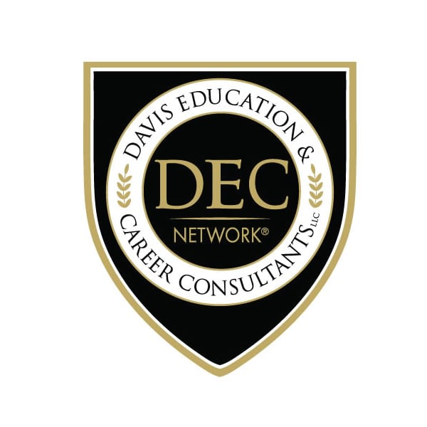 Education Logo Design | Davis Education & Career Consultants | target market of advisment, college students, and career professionals |educational network located in Ridgefield, CT