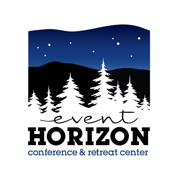 Small Business Logo Design| Event Horizon Conference & Retreat Center|target market focused on small events, retreats, and conferences | located in Willseyville, NY