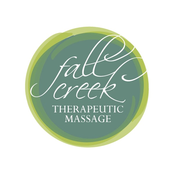 Logo Design | Fall Creek Therapeutic Massage | target market of men, women, and massage services | theraputic massage located in Ithaca, NY