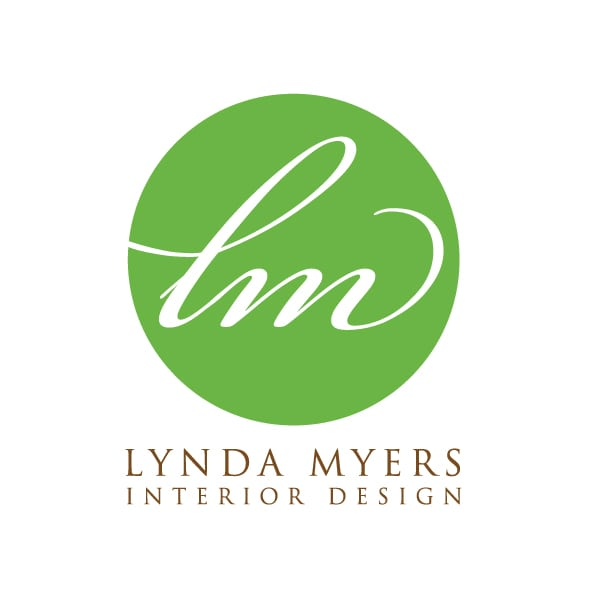 Small Business Logo Design | Lynda Myers Interior Design |target market focused on enviornmentally sustainable interior design and space planning | interior design business located in Ithaca, NY