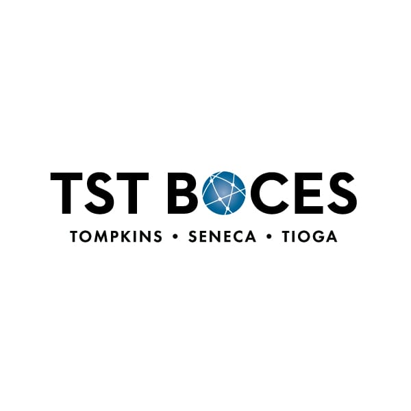 Education Logo Design | TST BOCES | target market focused on adult education, career and technical education, exceptional education, regional alternative school | located in Ithaca, NY