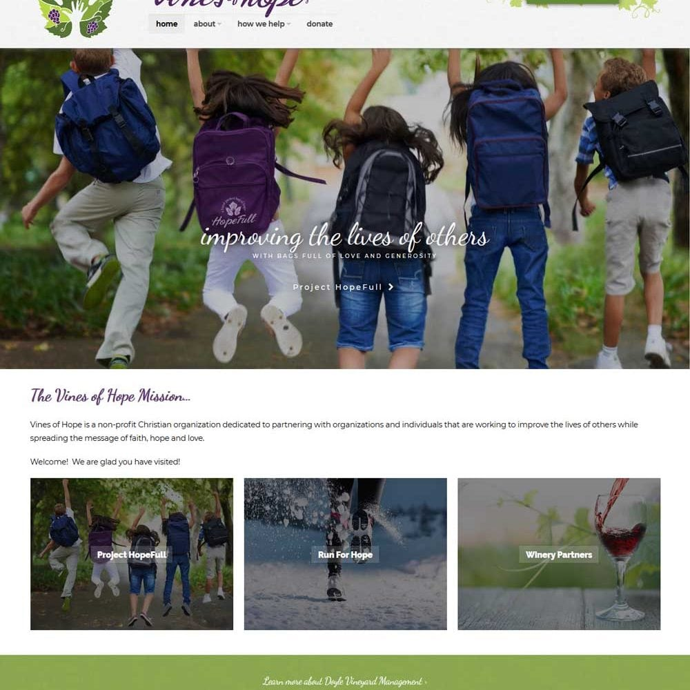 Non Profit Website | Charitable Organization serving the Finger Lakes in CNY, NY