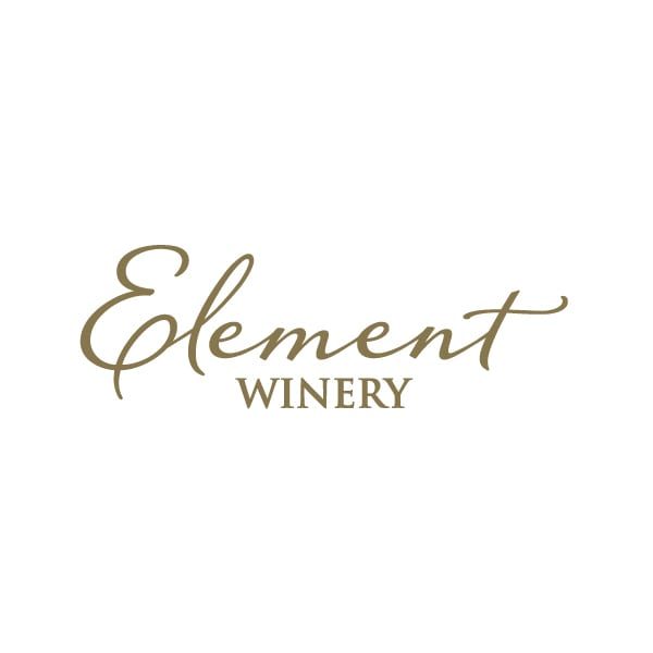 Winery Logo Design | Element Winery| founded by Bob Bates and Christopher Bates, Master Sommelier| target market of wine tasting, grape growers, wine makers, and New York Wineries | located in Arkport, NY