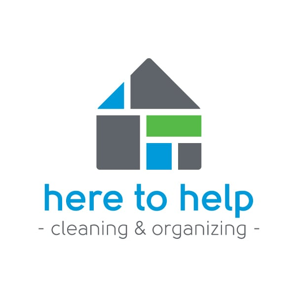 Small Business Logo Design| Here to Help |target market of cleaning services, orginizational expertise, household needs | located in Ithaca, NY