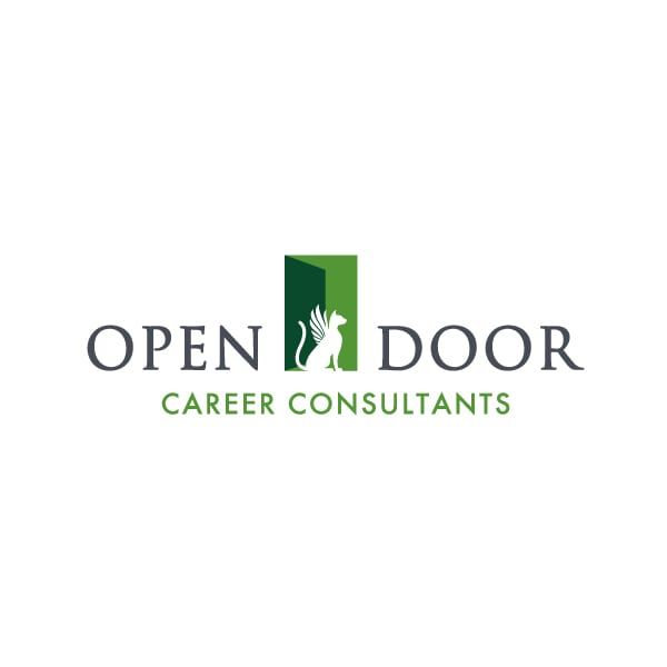 Small Business Logo Design | Open Door Consulting | target market focused on career and advisement |consultation business located in Ithaca, NY