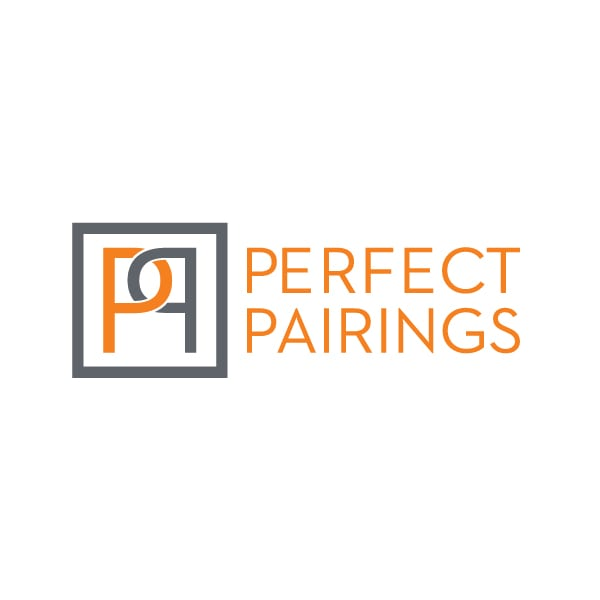 Small Business Logo Design| Perfect Pairings| focused target market of dating, heart of the Finger Lakes, personalized matchmaking| located in Ithaca, NY