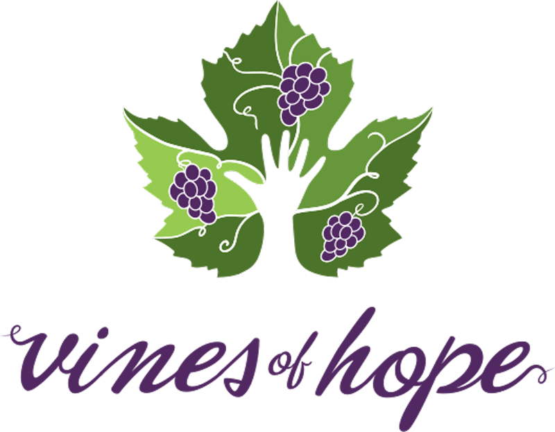 Charitable Organization Logo Design | Vines of Hope | Part of Doyle Vineyard Management | serving the Finger Lakes, NY