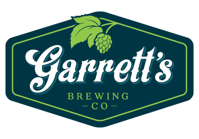 Garrett's Brewing Logomark | Microbrewery Logo Design | Artisan & Small Batch Beer Producer | Trumansburg, NY
